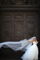 beautiful velo de novia White Long Cathedral Wedding Veils Bridal Veils