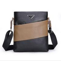 100% Cowhide leather men bag men's briefcase business Ipad men's messenger bag 2015 new shoulder bag ipad men's travel bags