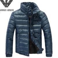 2014 Winter New Arrival Famous Brand 100% Duck Down Jacket Men,Man Outdoors Plus Size Parka Men's Warm Coat men down-jacket