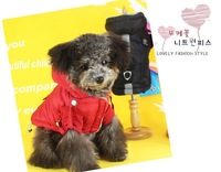 Small Dog Clothes Winter Coat For Dogs Cats Pet Clothing Warn WinterProof Black Red Pet Product Dog Pet Clothes 1pcs/lot