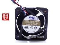 AVC 4cm cm mute server chassis fan 4020 12V 0.1A DS04020B12L