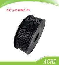 ABS Filament 3D Printer Consumables Black material dia1.75mm 1KG Plastic Consumables