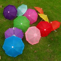 Kids Toy Mini Craft Umbrellas Dance Props Small Decoration Umbrellas