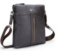 Men bags Real genuine leather men's briefcase business men's messenger bag 2015 new shoulder bag ipad small men's travel bags
