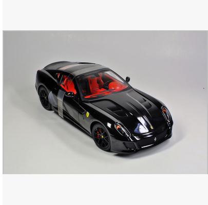 1/18 Hotwheels 599 GTO black Diecasts Scale Car Models black(China (Mainland))