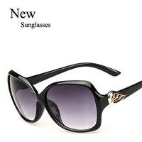 Wholesale Fashion 2015 Brand Cheap Sunglasses New Style Women Ladys Leisure Eyewear Free shipping