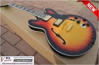 New! Custom Shop 1960 Slim Neck 335 Dot Reissue VOS electric guitar Vintage Sunburst  free shipping