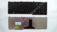 NEW Laptop US Layout Keyboard Glossy Black Big Enter For Toshiba C650