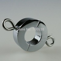 345g Metal Ball Stretchers Scrotum Pendant Testis Weight Restraint Lock Ring Medium Size