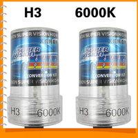 12V 35W H3 6000K Xenon HID Car Headlight Bulbs High Efficiency Waterproof Auto Car Headlamp