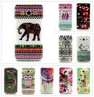 Fashion Design Beautiful Elephant, etc. Pattern TPU Back Cover Case for Samsung Galaxy Core II G355 G355H G3559 G3556D 15 Styles