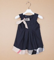 top selling brand new 2015 summer infant baby plaid dress,new arrival brand baby dresses,baby toddler clothes
