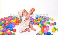 EMS free shipping 400pcs/lot 5.5cm Multicolor Hollow plastic ball Fun ball High quality Ocean ball Eco-friendly plastic ball