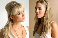 free shipping  fasion women's Synthetic Hair braid headbands accessories