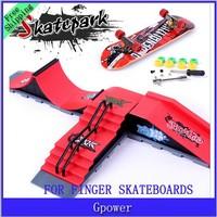 Hot sale! New Arrival 2015 Fashion Finger Skateboard Skatepark Suit Adult kid Chirdren Toys Novelty & Gag Toy  Free Shipping