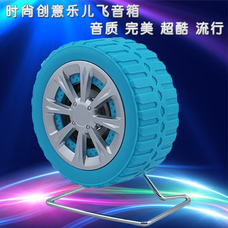 Acusando estéreo mini USB speakers 2.0 de computador pneu criativas pequenos alto-falantes(China (Mainland))