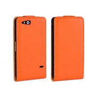 New 11 Colors Vertical Flip Leather Case Pouch Cover For Xperia GO ST27i Cell Phone Cases