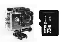 Original SJ4000 Action Diving 30M Waterproof 1080P Full HD Helmet Camera Underwater Sport Cameras Sport DV Gopro + 16GB TF Card