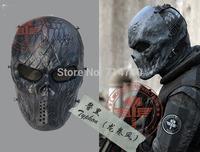 New Tactical Rattlesnake Mandrake scary horror skull Chastener typhon Camouflage Full Face Masks For Movie Airsoft CS Wargame