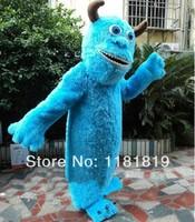 High quality Sullivan Hairy Monster Sally mascot costume custom fancy costume anime cospaly kits mascotte theme fancy dress
