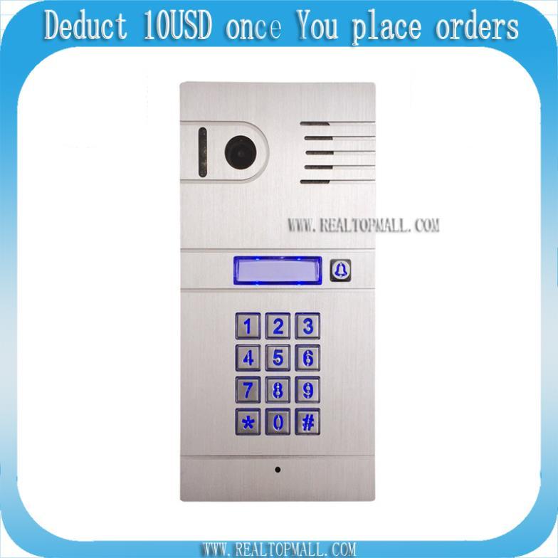DIY Wireless Video Door Phone Wifi IP Video Door Phone Remote Door Access  By Unlocking Doors