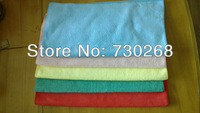 Free Shipp Wholesale 40X40cm 280-300gsm Microfiber Towels Magic Cloth Glass Cleaning Microfiber Cloth Drying Towel