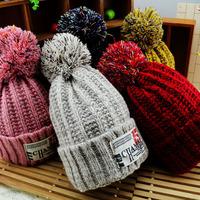 HT-1504 Retail children winter hats with  polar fleece  kids beanies boys  and girls winter hats