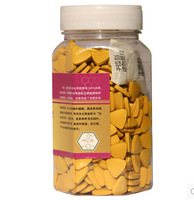 500Pills/bottle 250g 100% organic Cracked Lotus pollen tablet clearing away heat and toxic materials Bee flower pollen tablet
