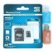 EMS 100Pcs/Lot Real Capacity Memory Card Class 10 32GB 64GB Micro SD Card Microsd TF Cards Pen Drive Flash  Free Card Reader