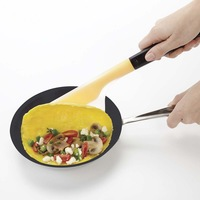 silicone egg turner professional fried egg easy to turn