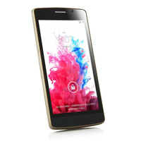 5 Inches 5.0 Inch 3G Android 4.4 ROM 4GB 2Cores/2SIMs MTK6572 Slim Cell Phone Mobile Phone GPS Celular Unlocked Smartphone