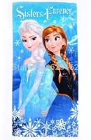 Free Shipping! 140*80 CM. Frozen bath towel, Children's beach towels, Cartoon towels. Frozen ELSA And ANNA.