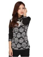 xxxxl Plus Size Plus Fertilizer Women Winter New Vintage Slim Pullovrs Warm Women T-Shirts Free Shipping