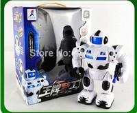 Children's educational toys, Space Cruiser Robot Cartoon Music Children electric Light fun music walk Swingably