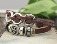 Hot Sale Leather Beaded Bracelets