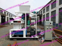 MKL450-75 ring die wood pellet machine automatic lubricating system control system