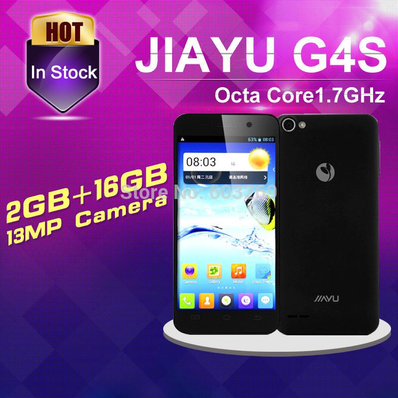 Original JIAYU G4S MTK6592 Octa núcleo celular 4.7 '' IPS JY G4 G4C Quad Core avançada Smartphone 3 G WCDMA 3000 mAh telefone celular(China (Mainland))