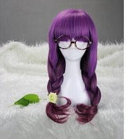 Colorful Cosplay Wigs Young Long Curly Synthetic Hair Wig Blonde Wigs For Halloween Costume