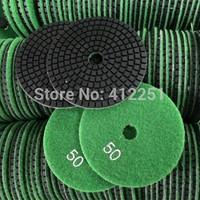 Diamond flexible polishing disc air sander pads wet stone resin polishing pad granite polish pads dia 4 inch