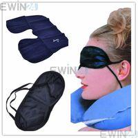 Travel Sleeping Set  air Inflatable Neck Air Pillow  & eye mask & 2 Ear Plug wholesale free shipping 600sets/lot