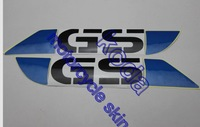 Freeshipping Sticker decal for R1200GS F800GS right and left blue-color