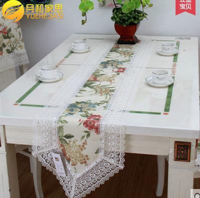 product European-rural cloth art tablecloth  toalha de mesa  table runner printing wedding table runners satin table runner
