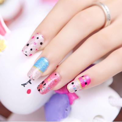 sexy pattern nail Stickers Nail Art decoration nail patch polish(China (Mainland))