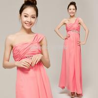 2014 winter fashion the banquet evening dress red long design  evening dress