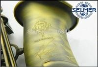 Henry Reference 54 selmer alto saxophone drop E green, green, bronze
