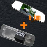 "4.3"" TFT-LCD Parking Rearview Monitor Kits +Car Rearview Camera for KIA Rio Sedan for Kia K2 Sedan 2011-2014"