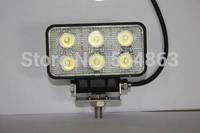 18W LED work lights / car lamp / off-road lights / off-road lamp Rectangular shape