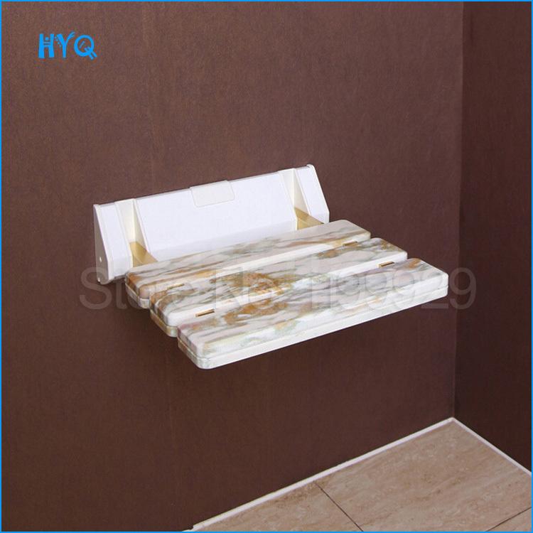 Hocker F?r Dusche H?henverstellbar : nachahmung stein abs dusche hocker klapphocker Korridor wand stuhl bad