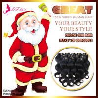 DF:New 2015 Brazilian Hair 3bundles/lot Cheap Human Hair Extensions Hair Weaves 8''-28'' Queen Body Wave Natural Black Hair