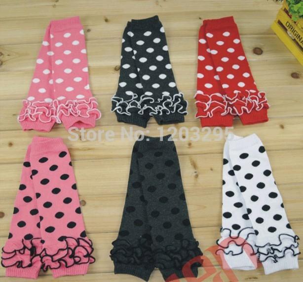 20pair Baby Kids leg warmer stockings Baby Toddler Girl Dot Legging Legs & Arm Warmers(China (Mainland))
